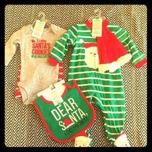 Holiday baby clothes
